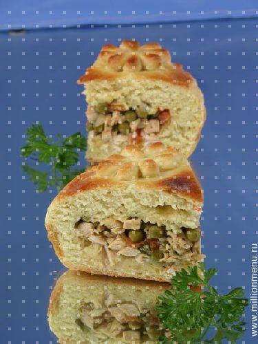 рецепты выпечки пирогов из творога #10